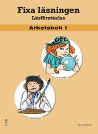 Fixa läsningen Läsförståelse Arbetsbok 1, 5-pack