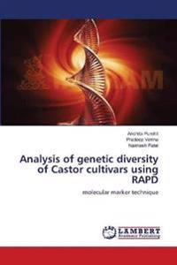 Analysis of Genetic Diversity of Castor Cultivars Using Rapd