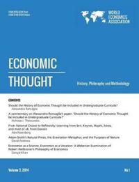 Economic Thought. Vol3, No 1, 2014