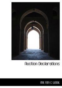 Auction Declarations
