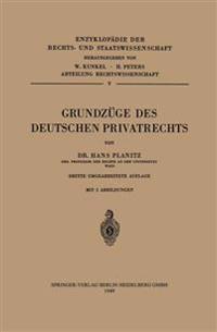 Grundz�ge Des Deutschen Privatrechts