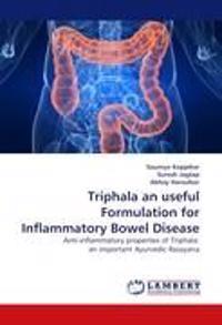 Triphala an Useful Formulation for Inflammatory Bowel Disease
