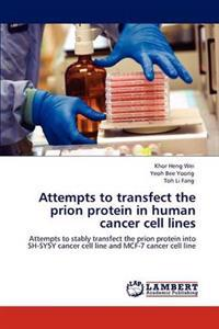 Attempts to Transfect the Prion Protein in Human Cancer Cell Lines
