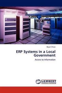 Erp Systems in a Local Government