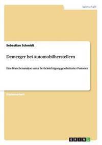 Demerger Bei Automobilherstellern