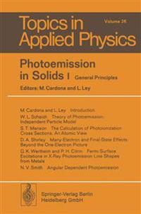 Photoemission in Solids I