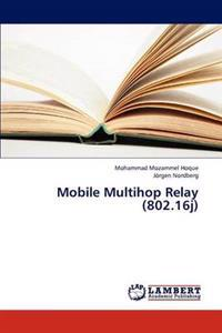 Mobile Multihop Relay (802.16j)