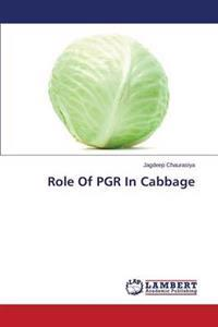 Role of Pgr in Cabbage