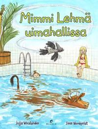 Mimmi Lehmä uimahallissa
