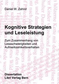 Kognitive Strategien Und Leseleistung
