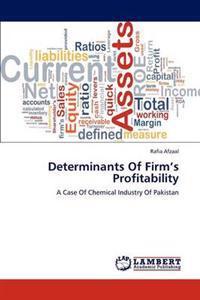 Determinants of Firm's Profitability