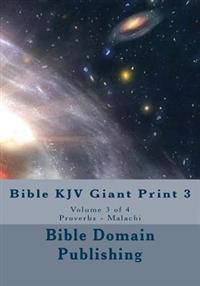 Bible KJV Giant Print 3