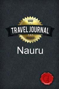 Travel Journal Nauru