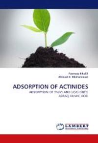 Adsorption of Actinides