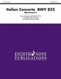 Italian Concerto, Bwv 832 (Movement I): Score & Parts