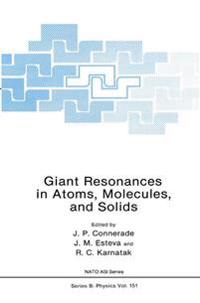 Giant Resonances in Atoms, Molecules, and Solids