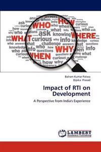 Impact of Rti on Development