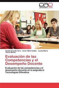 Evaluacion de Las Competencias y El Desempeno Docente