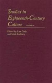 Studies in Eighteenth-Century Culture