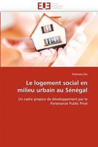 Le Logement Social En Milieu Urbain Au Senegal