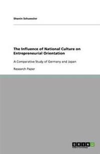 The Influence of National Culture on Entrepreneurial Orientation