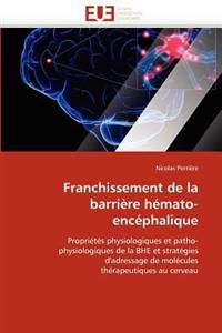 Franchissement de La Barriere Hemato-Encephalique