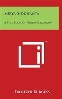 Surya-Siddhanta: A Text Book of Hindu Astronomy