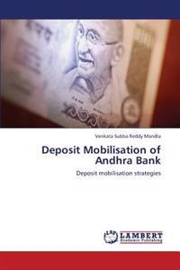 Deposit Mobilisation of Andhra Bank