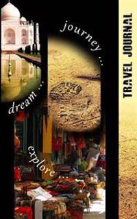 Travel Journal: Traveler's / Traveller's / Travelers Notebook / Travel Log / Gift