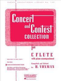 Concert and Contest Collection for C Flute: Piano Accompaniment