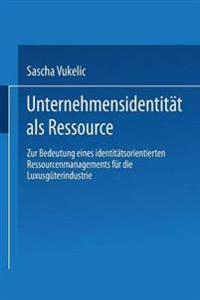 Unternehmensidentität Als Ressource