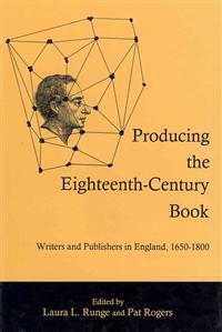 Producing the Eighteenth-Century Book