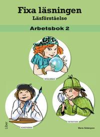 Fixa läsningen Läsförståelse Arbetsbok 2, 5-pack
