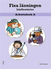 Fixa läsningen Läsförståelse Arbetsbok 3, 5-pack