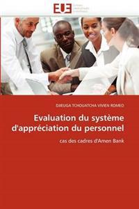 Evaluation Du Systeme D'Appreciation Du Personnel