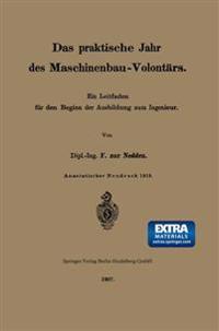Das Praktische Jahr Des Maschinenbau-Volont rs