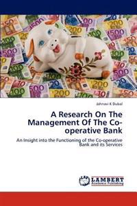 A Research on the Management of the Co-Operative Bank