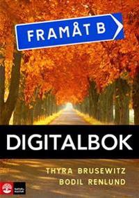 Framåt B 2:a uppl Textbok Digital (12 mån)