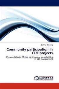 Community Participation in Cdf Projects