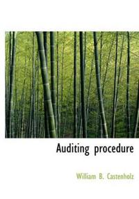 Auditing Procedure