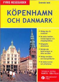 Köpenhamn och Danmark med karta