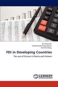 FDI in Developing Countries