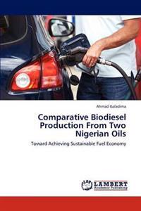 Comparative Biodiesel Production from Two Nigerian Oils
