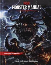 Dungeons & Dragons Monster Manual (Core Rulebook 2 of 3 for the D&d Roleplaying Game)
