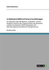 Le Teletexte D'Arte En France Et En Allemagne