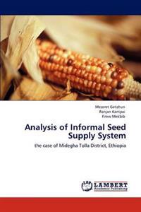 Analysis of Informal Seed Supply System