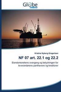 Nf 07 Art. 22.1 Og 22.2 - Gregertsen Kristina Nyborg | Inprintwriters.org