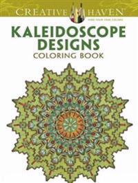 Kaleidoscope Designs Adult Coloring Book