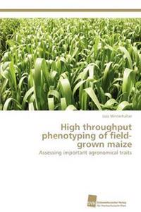 High Throughput Phenotyping of Field-Grown Maize