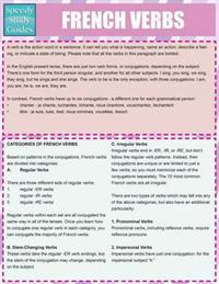 French Verbs (Speedy Study Guides